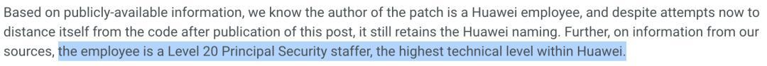 勒索软件不再满足于加密解密了;华为首席安全专家提交补丁被发现「漏洞」
